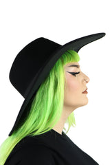 Secret Window Oversized Round Hat