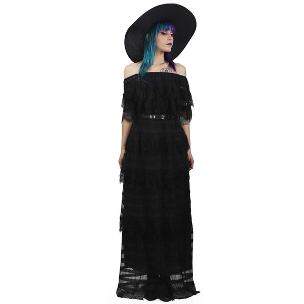 Leota Lace Maxi Dress (only Small/Medium left!)