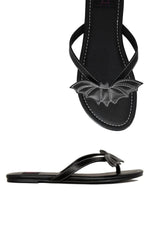 Bat Flip-Flop Sandals: sizes 6/7/11 left!