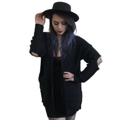 Black Magic Oversized Sweater