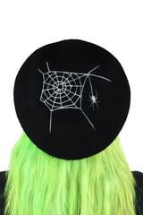 Widow Web Beret -Glow in the dark! (Super Limited!)