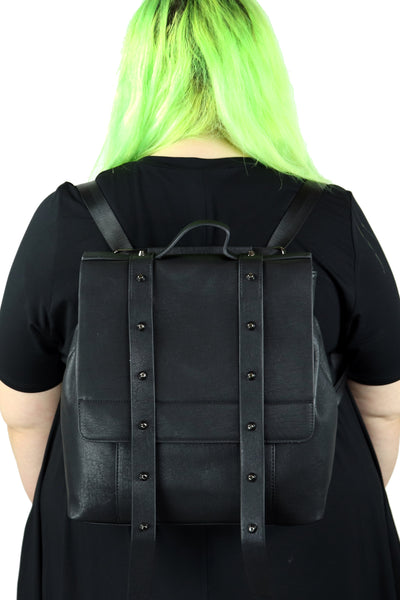 Downtown Goth Convertible Backpack