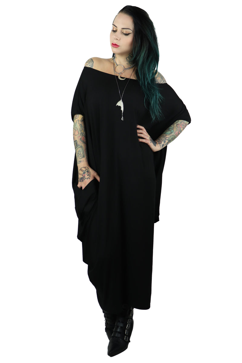 Raven Maxi Dress -WITH POCKETS