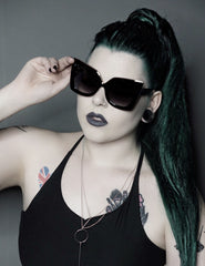 Trixie Sunglasses - Black Leopard (1 left!)