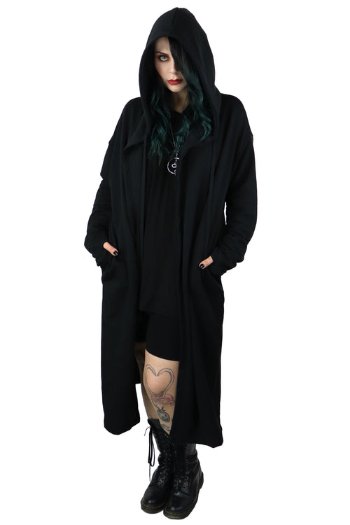 Bury A Friend Oversized Hooded Duster