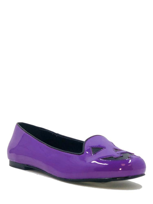 Jack-o-lantern Flats - Purple sizes 6 & 11 left!