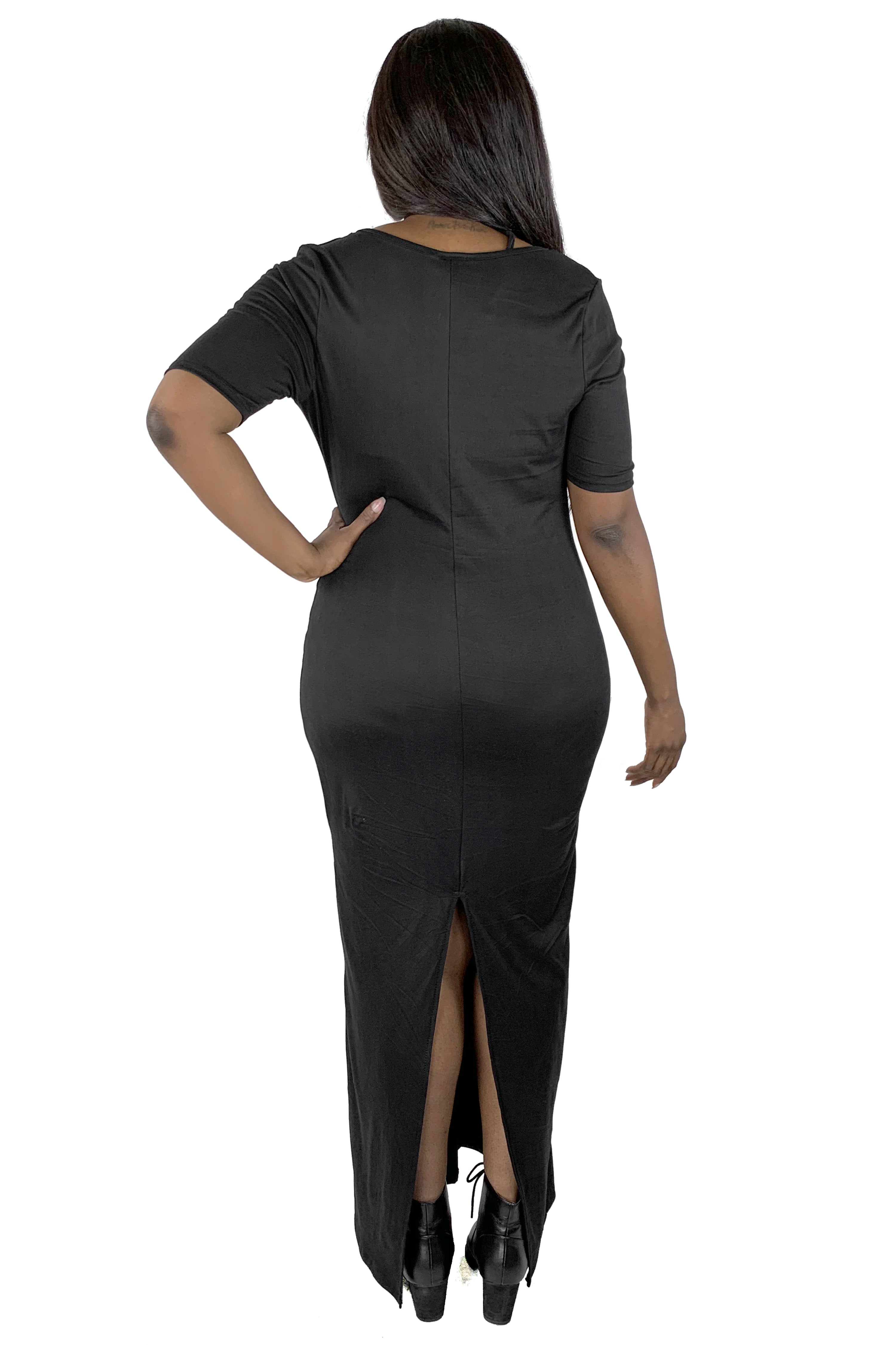 Divine Cut Out Two Piece Maxi Dress