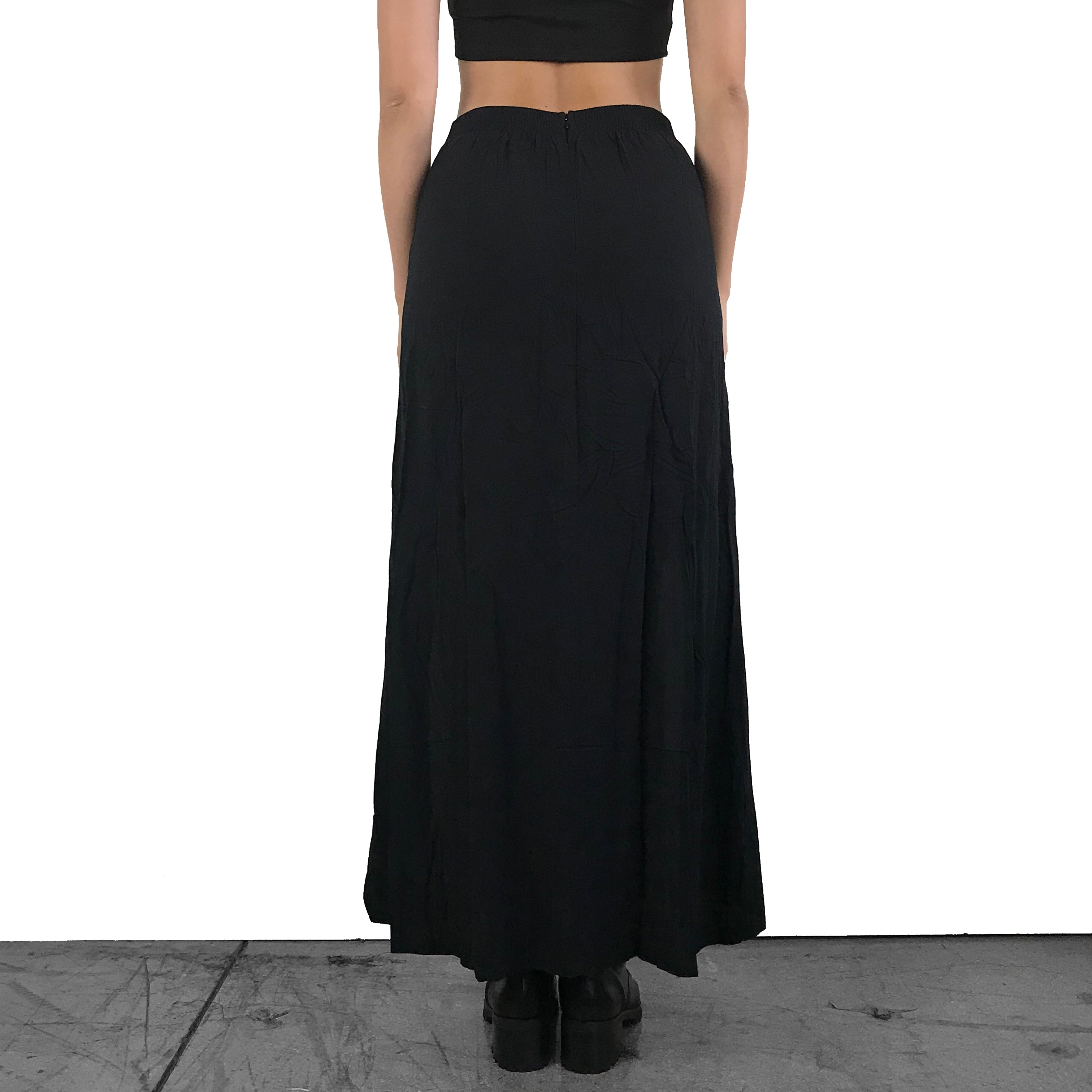 41584690733 Season of The Witch Corset Maxi Skirt – FOXBLOOD SHOP