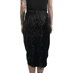 Velvet Draw String Skirt