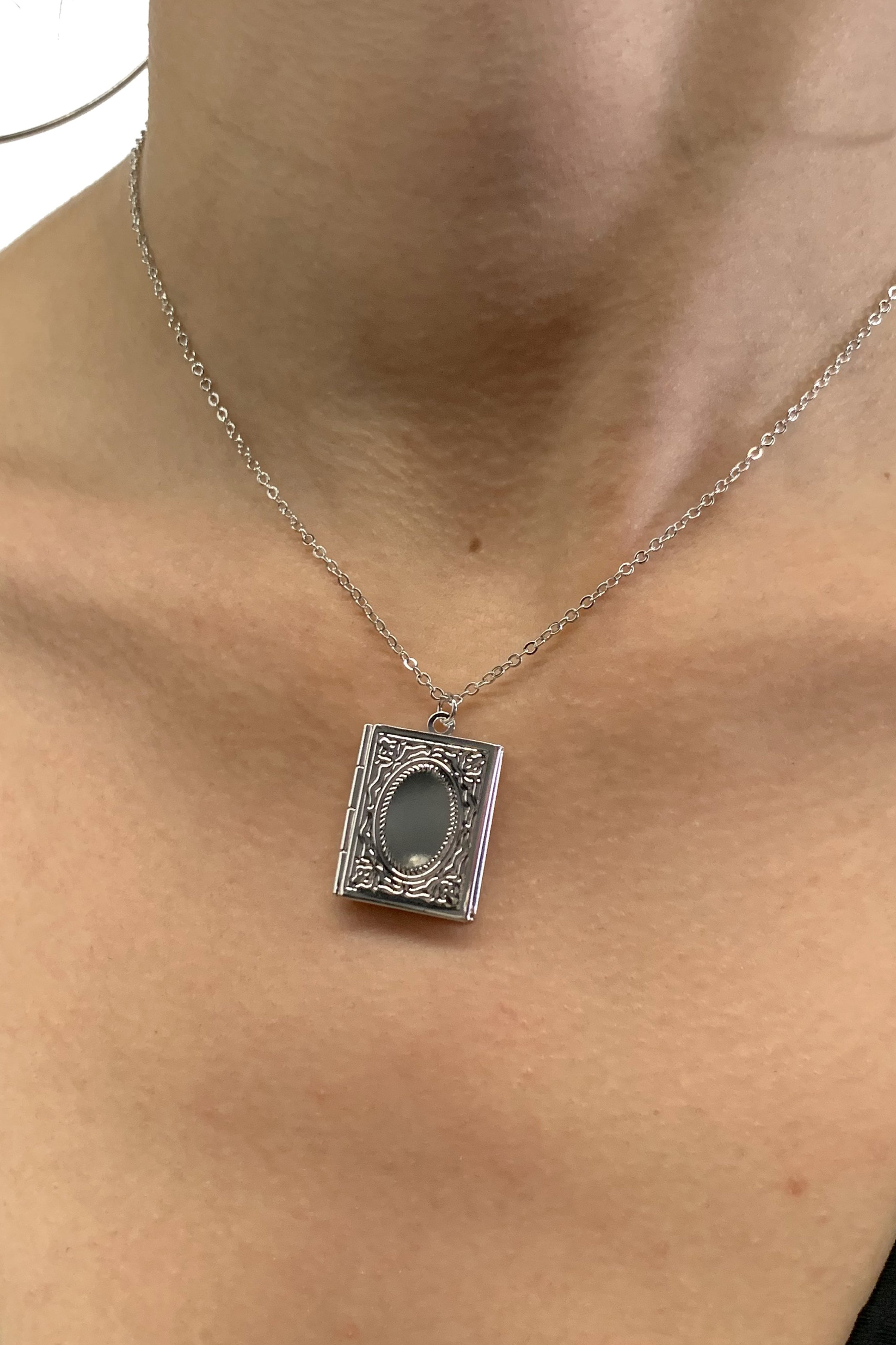 Little Secret Book Locket Necklace