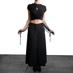 High Witch Suspender Skirt