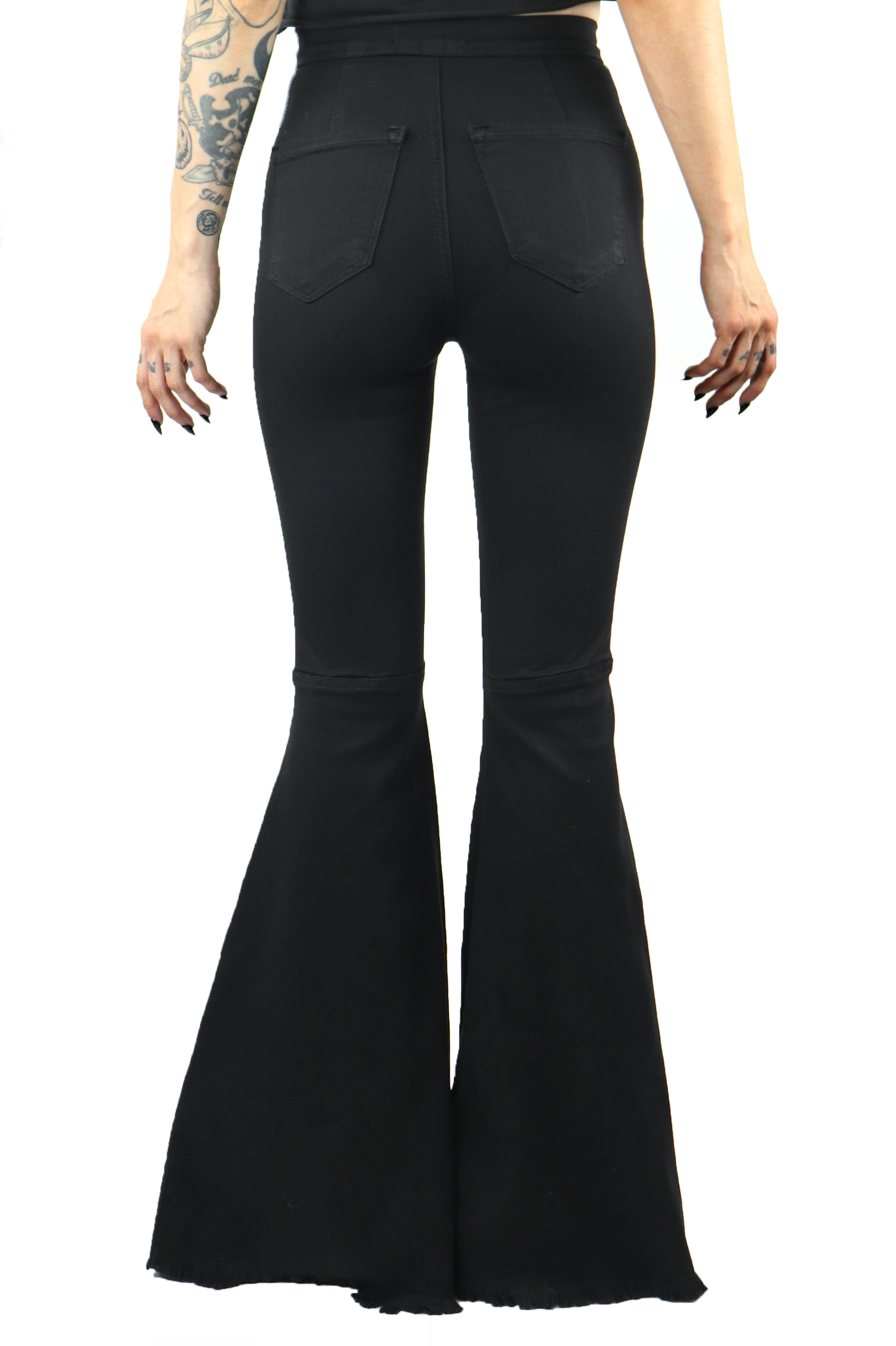 Janis Extra Wide Stretch Bellbottom Jeans