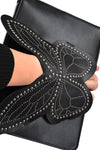 Mariah Butterfly Hand Grip Clutch Bag