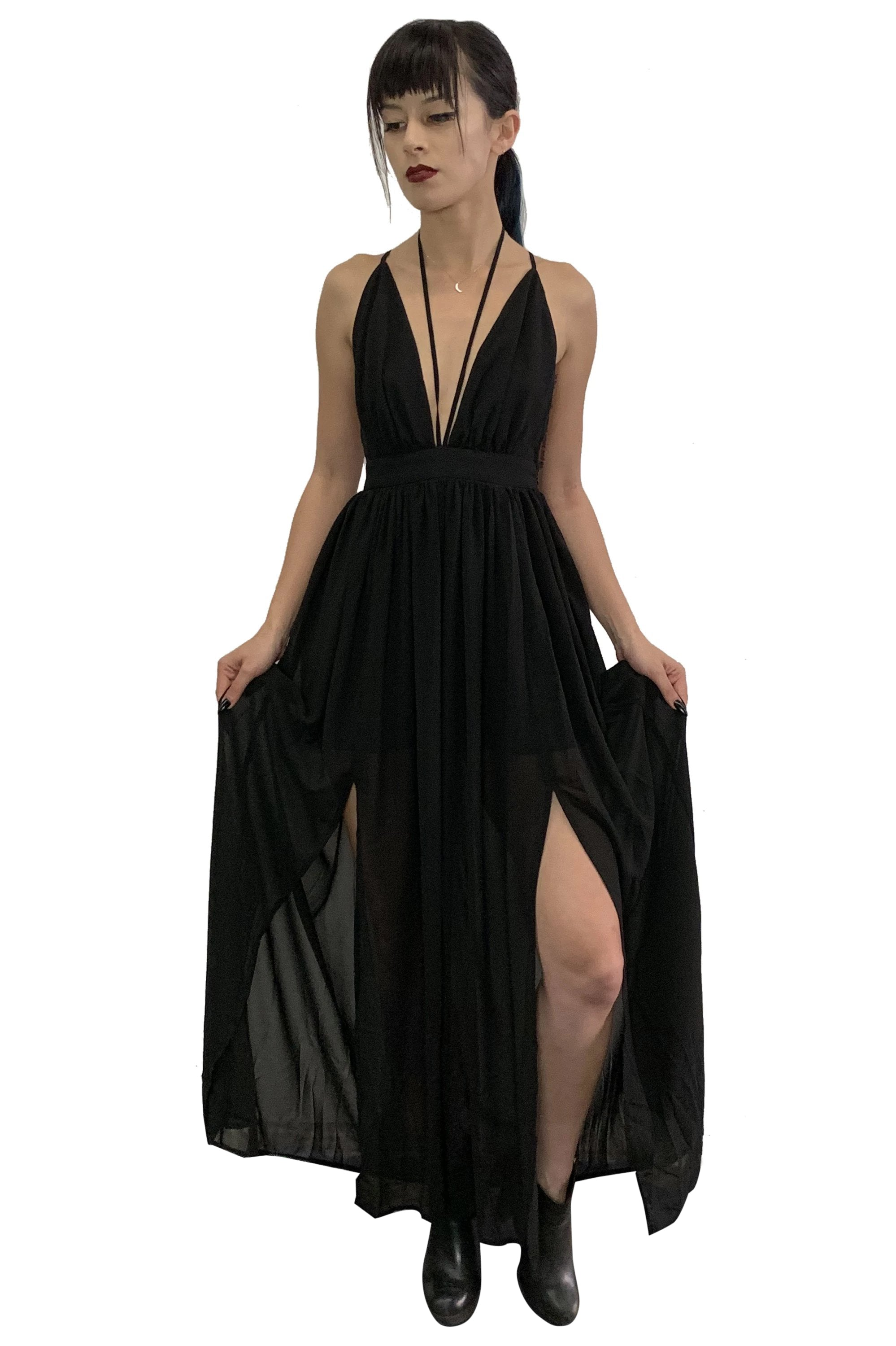 Calypso Flowing Maxi Dress - no restock. Limited edition.