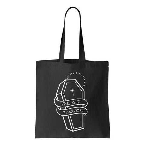 Dead Inside Tote Bag