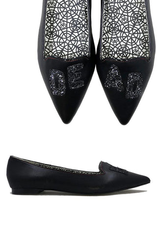Dead But Still Cute Flats - size 6 left!