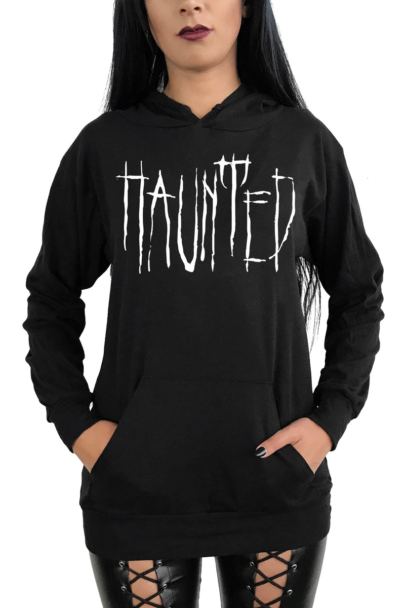 Haunted Pull Over Hoodie (Unisex)