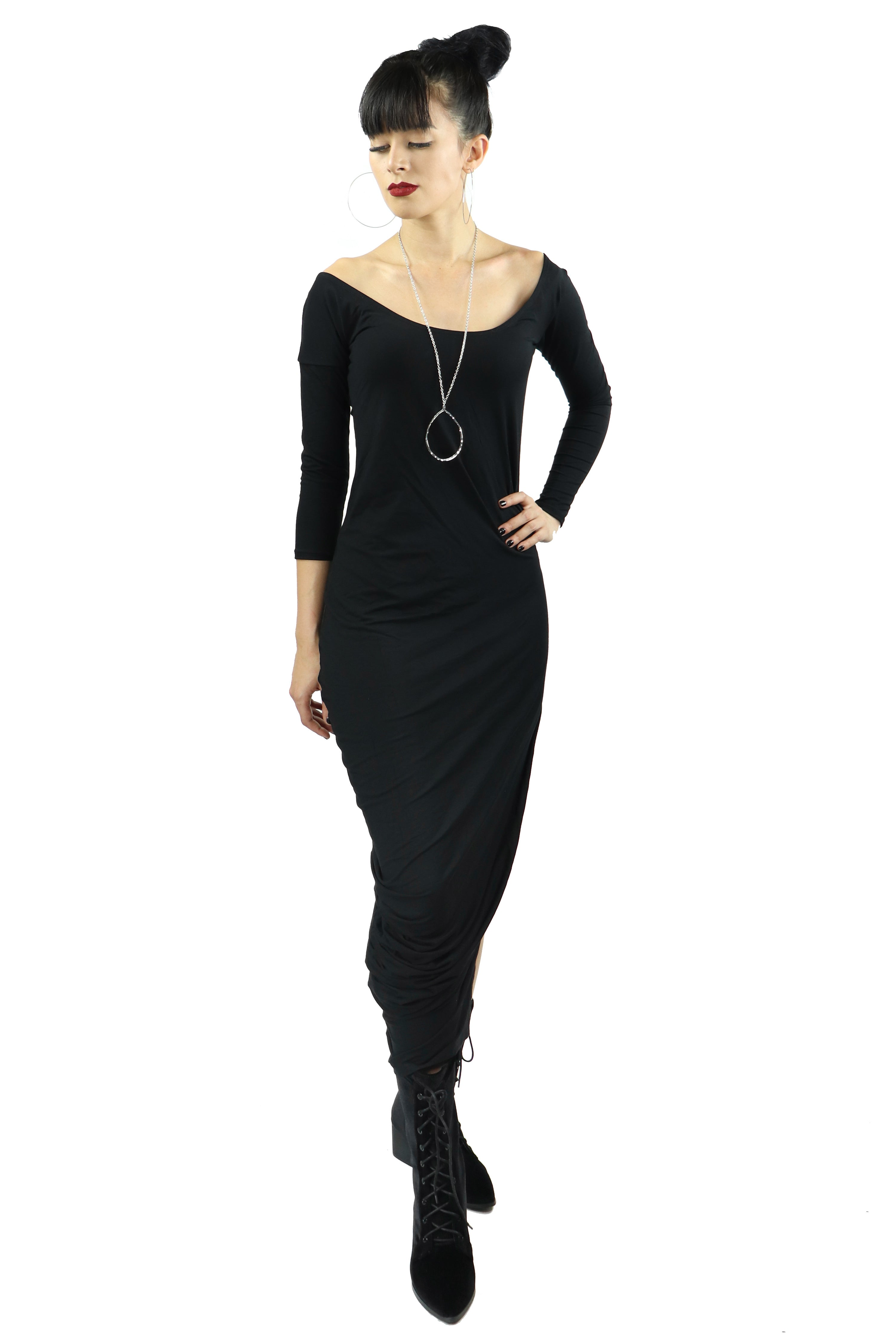 Oracle Off the Shoulder Maxi Dress (XS - 3XL)