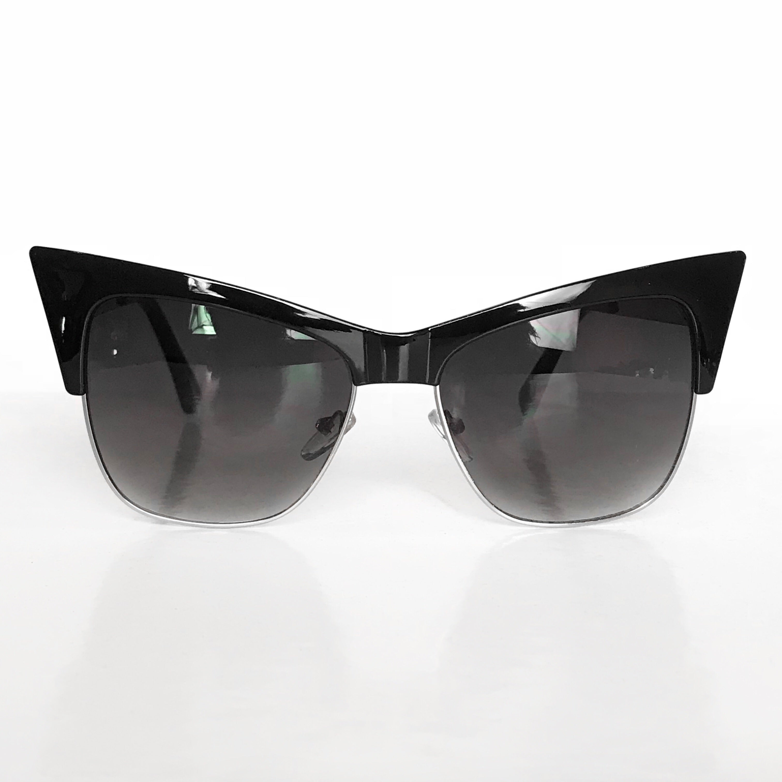 VAMP Cateye Sunglasses- Black