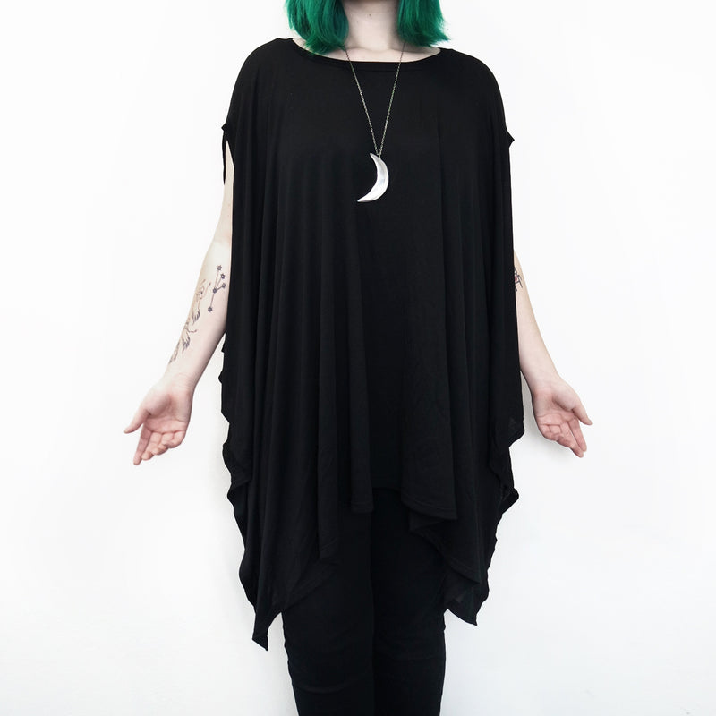Rhiannon Flowing Oversized Tunic Top