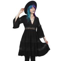 Pixie Goth Dress