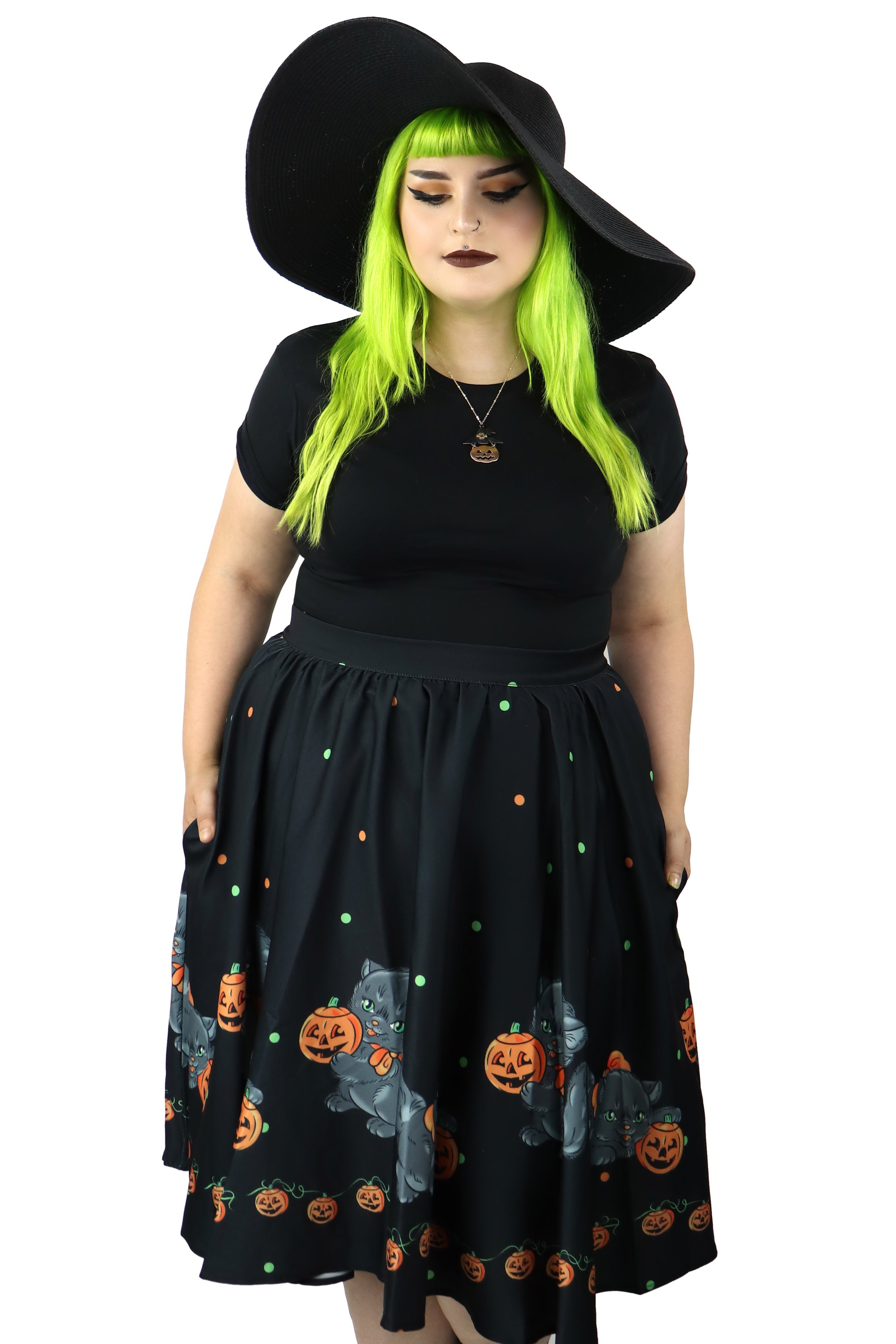 Spooky Sweets Skirt- only small & medium left!