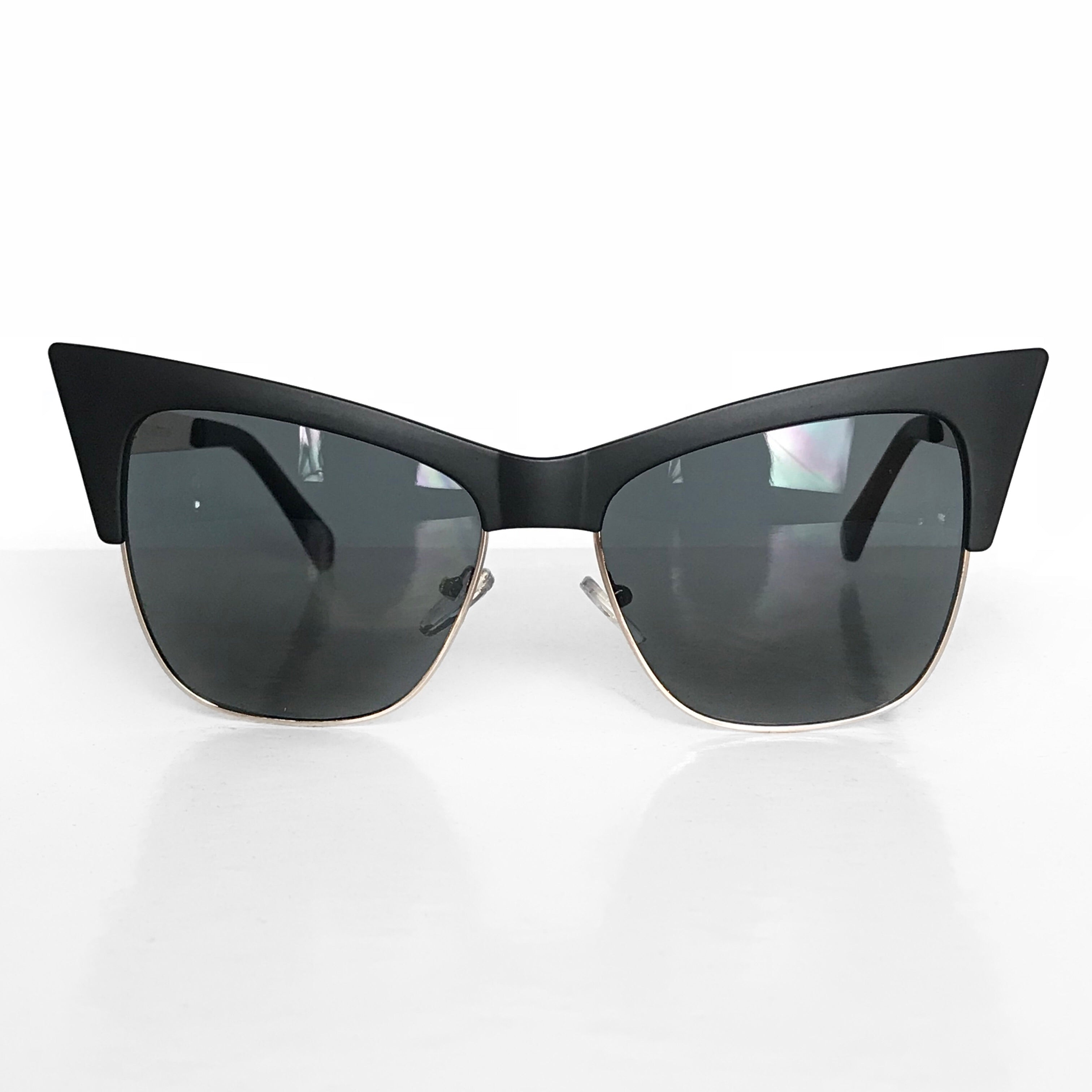 VAMP Cateye Sunglasses- Matte Black(BACKORDER!)