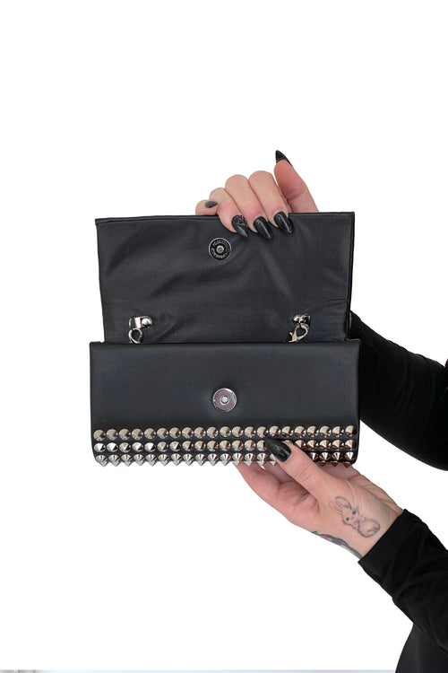 Painkiller Studded Envelope Crossbody Bag