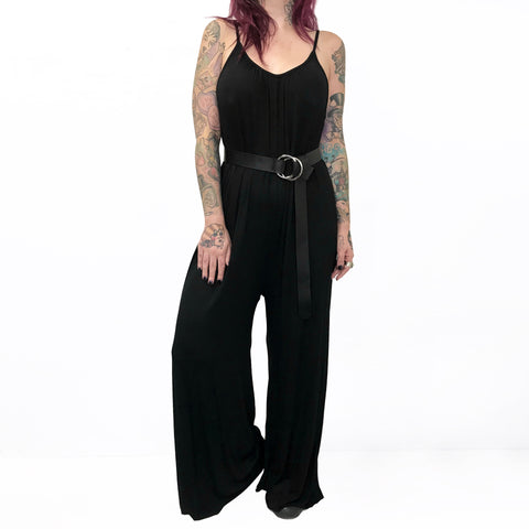 Lazy Day Oversized Drop-Crotch Jumpsuit