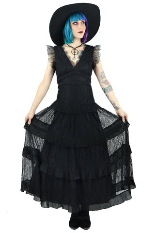 Lady Winchester Lace Dress