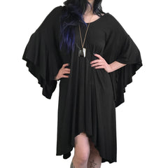 Alice Bat Wing Flowing Oversized Tunic Top