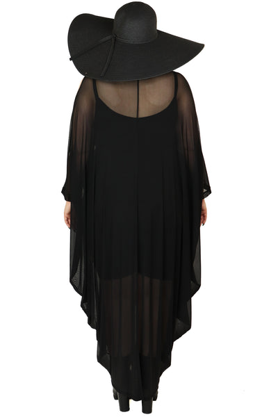 The Shadow Mesh Kaftan