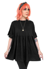 Khloe Babydoll Tunic Dress