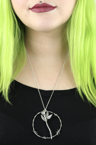Too Mean To Die Necklace - last one