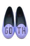 Goth Flats - Purple and Black