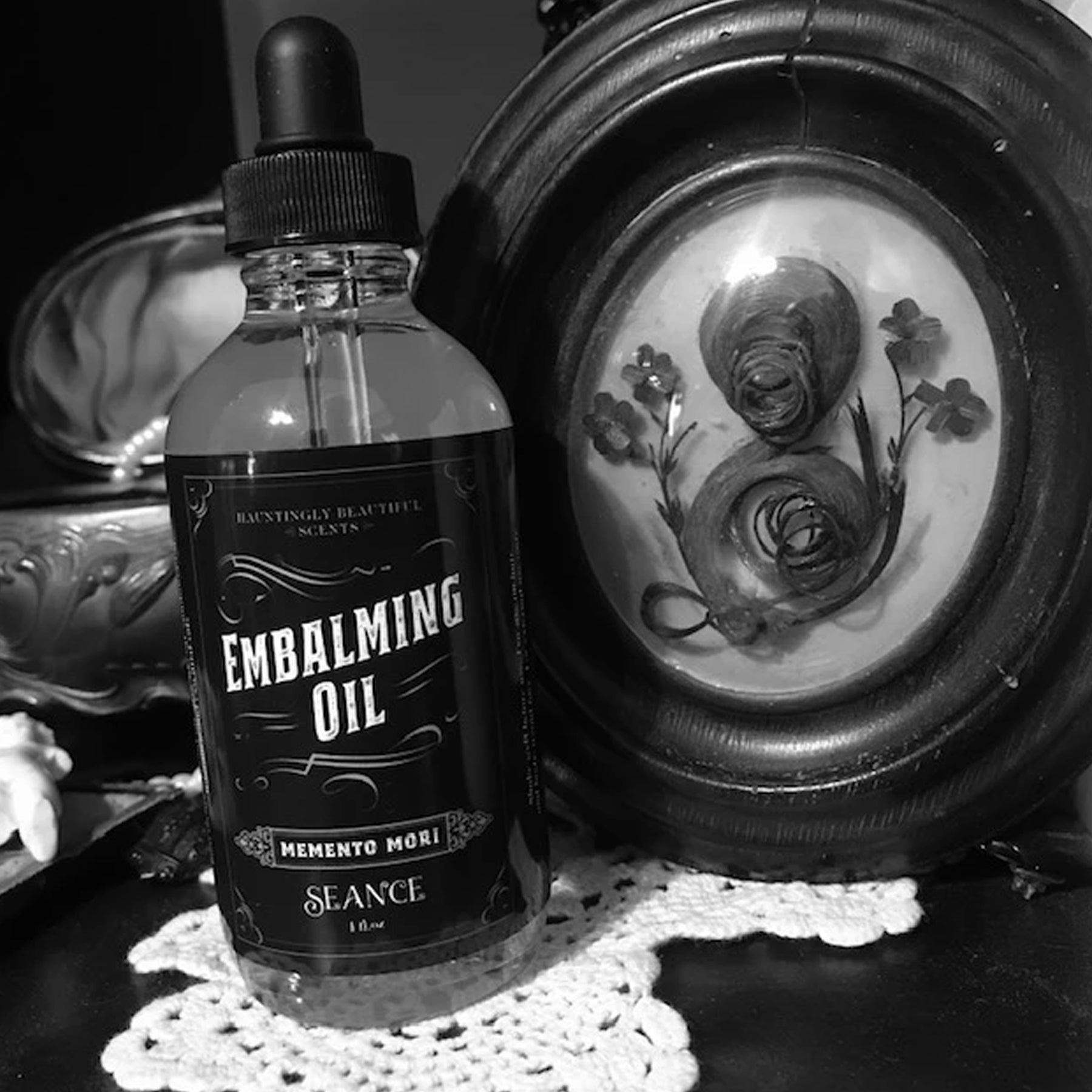 Seance Embalming Oil- (lotion oil)- Memento Mori