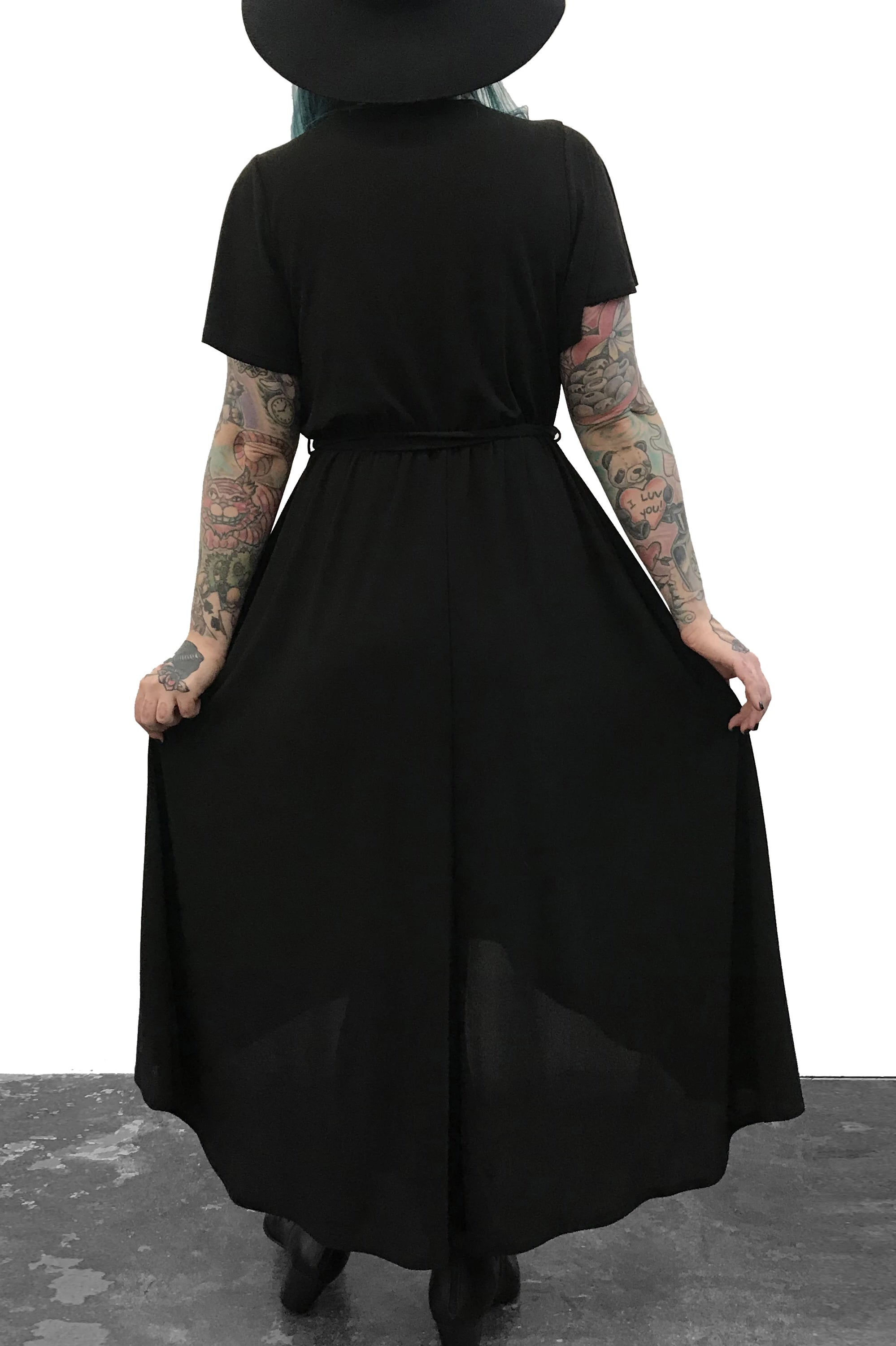 High Low Maxi Wrap Dress - Xs/S/3XL left!