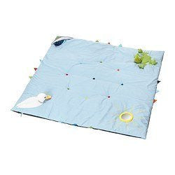 Ikea Leka Play Mat, Blue