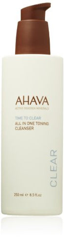 AHAVA Time to Clear All In One Toning Cleanser, 8.5 fl. oz.