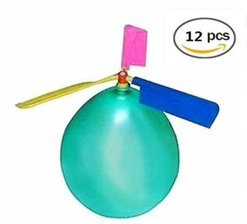 BAIVYLE Kids Toy Balloon Helicopter Children's Day Gift Party Favor easter basket, stocking stuffer or birthday!