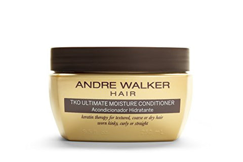 Andre Walker Hair, Official Gold System Store, TKO Ultimate Moisture Conditioner, 8.5 Fluid Ounce