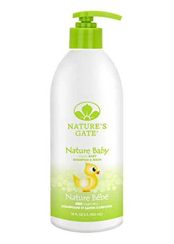 Nature's Gate Baby Soothing Shampoo for Fine, Delicate Hair, 18 Ounce