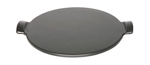Emile Henry Made In France Flame Individual Pizza Stone, 10 , Charcoal