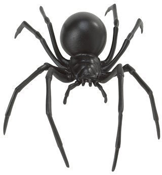 Safari Ltd Hidden Kingdom – Black Widow Spider – Realistic Hand Painted Toy Figurine for Ages 3 and Up – Large