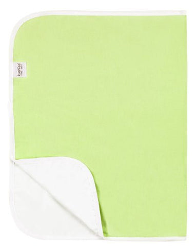 Kushies Deluxe Flannel Change Pad, Green