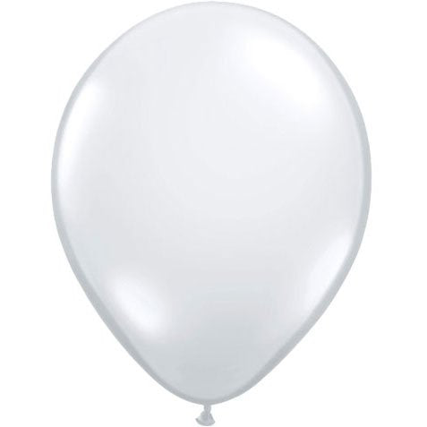 Qualatex 5  Diamond Clear Latex Balloons (10 ct)