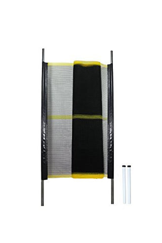 Kidkusion Driveway Safety Net, Black/Yellow