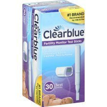 Clearblue Easy Fertility Monitor Test Sticks, 30 count