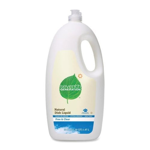 Seventh Generation Dishwashing Liquid, Natural, 50 Ounce