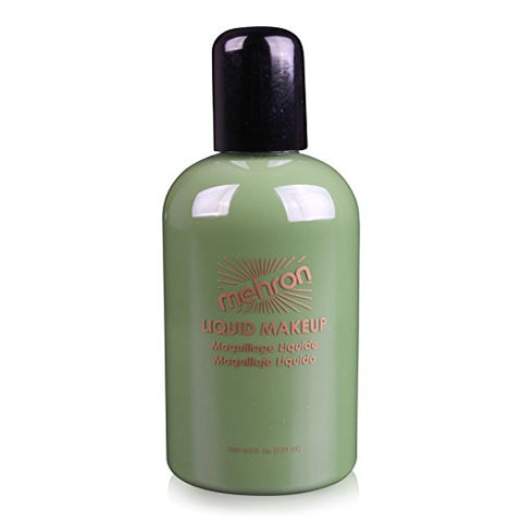 Mehron Makeup Liquid Face & Body Paint, GREEN – 4.5oz